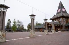 圣诞老人村庄,北极圈 库存图片