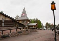 圣诞老人村庄,北极圈 免版税库存图片