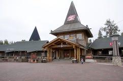圣诞老人村庄,北极圈 库存照片
