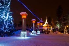 圣诞老人村庄 库存照片