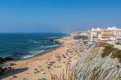 圣诞老人海伦娜海滩葡萄牙 免版税库存图片