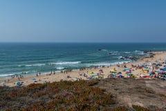 圣诞老人海伦娜海滩葡萄牙 库存图片