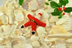 圣诞老人海星 免版税库存图片