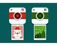 圣诞老人照片写真 库存图片