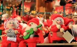 圣诞老人玩偶 免版税库存图片