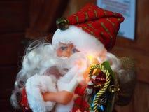 圣诞老人玩偶 库存照片