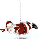 圣诞老人的不可能的任务 库存图片