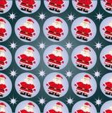 圣诞老人的装饰品 免版税图库摄影