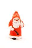 圣诞老人盐瓶 库存照片