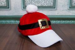 圣诞老人盖帽 库存照片