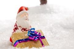 圣诞老人礼物天 免版税库存图片