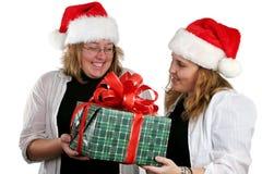 圣诞老人秘密 免版税库存图片