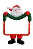 圣诞老人符号 免版税库存图片