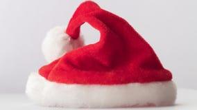 圣诞老人红色帽子 股票录像