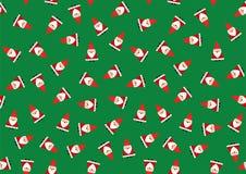 圣诞老人背景 免版税图库摄影