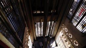 圣诞老人胡斯塔推力电梯在里斯本 影视素材