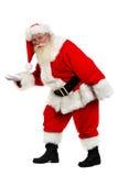圣诞老人脚尖 免版税库存图片