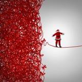 圣诞老人自由 免版税库存照片