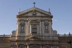 圣诞老人苏珊娜教会在罗马 免版税图库摄影