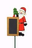 圣诞老人装饰 免版税库存图片