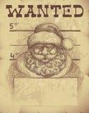 圣诞老人要 免版税库存图片