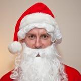 圣诞老人诉讼 免版税库存图片