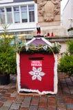 圣诞老人邮箱 库存图片