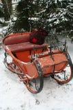 圣诞老人雪橇3 库存图片