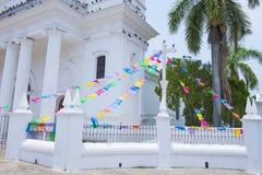 圣诞老人露西娅教会,苏奇托托 库存图片