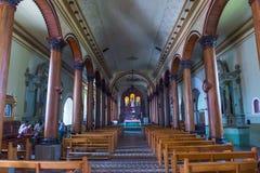 圣诞老人露西娅教会,苏奇托托 免版税库存图片