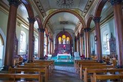 圣诞老人露西娅教会,苏奇托托 免版税图库摄影
