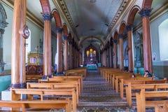 圣诞老人露西娅教会,苏奇托托 库存照片