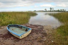 圣诞老人露西娅河,乌拉圭 库存照片