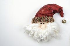 圣诞老人项目玩偶滑稽拉普兰美丽白肤金发 免版税库存照片