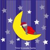 圣诞老人,醒! 免版税库存图片