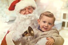 圣诞老人画象 库存照片