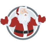 圣诞老人 免版税库存图片