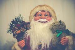 圣诞老人- lomo样式 免版税库存图片