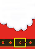 圣诞老人A3胡子  库存图片