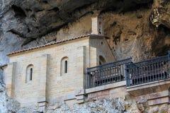 圣诞老人Cueva de科瓦东加, Cangas de OnAss,西班牙 免版税库存照片
