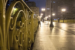 圣诞老人Ifigenia高架桥 库存照片