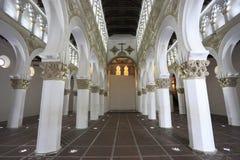 圣诞老人MarÃa la布朗卡犹太教堂,西班牙 免版税库存图片