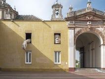 圣诞老人MarAaa de las奎瓦斯修道院  La Cartuja,塞维利亚,西班牙 安达卢西亚的当代艺术中心 免版税库存照片