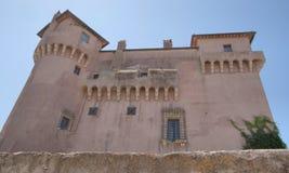 圣诞老人Severa城堡 免版税库存照片