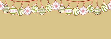 圣诞节、新年或者党的海报设计在简单的舱内甲板 库存例证