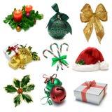 圣诞节一个抽样人员 免版税库存图片