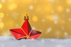 圣诞节不同的装饰品 库存图片