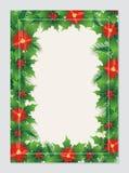 圣诞节与可爱的设计的贺卡 皇族释放例证