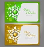 圣诞节与宝石的礼品看板卡 库存图片