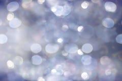 圣诞节与拷贝空间的闪烁背景 免版税库存照片
